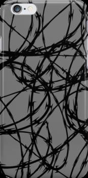 Razor Wire by Chillee Wilson by ChilleeWilson