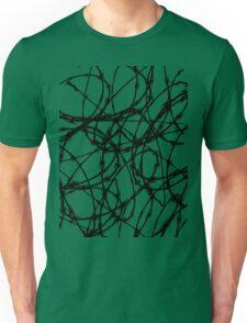 Razor Wire by Chillee Wilson Unisex T-Shirt