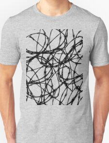 Razor Wire by Chillee Wilson Unisex T-Shirt