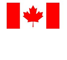 CANADA, Canadian Flag, Pure & Simple, National Flag of Canada, 'A Mari Usque Ad Mare' by TOM HILL - Designer
