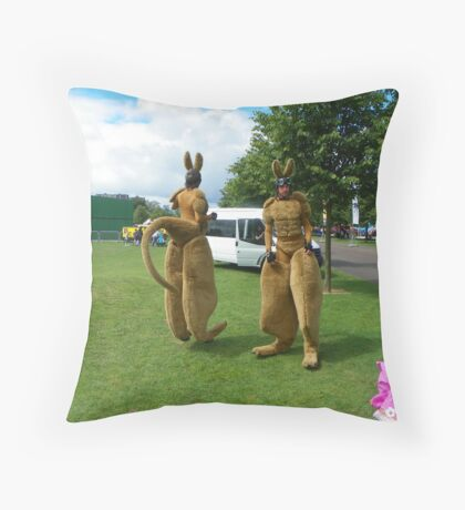 Glasgow kangaroos Throw Pillow