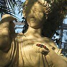 butterfly statue by Leeanne Middleton