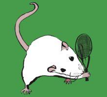 Tennis Rat by teaandink