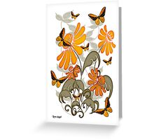 Natures Orange Greeting Card