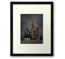 Moscow...... Framed Print
