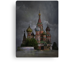 Moscow...... Canvas Print