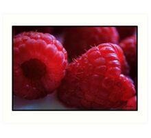 Berry Closeup Art Print