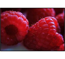 Berry Closeup Photographic Print