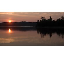 Canisbay Lake at first light Photographic Print