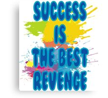 Code for Success Desig T-shirtn Canvas Print
