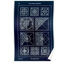 A Handbook Of Ornament With Three Hundred Plates Franz Sales Meyer 1896 0270 Enclosed Ornament Square Panel Inverted Poster
