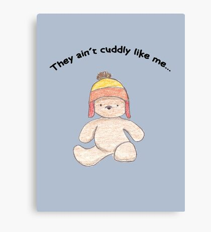 Cuddly Jayne for kids Canvas Print