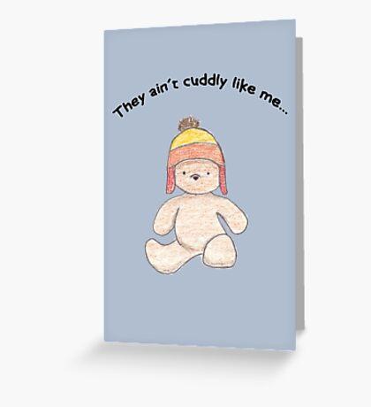 Cuddly Jayne for kids Greeting Card