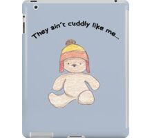 Cuddly Jayne for kids iPad Case/Skin