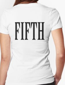 FIFTH, FIVE, NUMBER 5, TEAM SPORTS, Competition, BLACK TYPE T-Shirt