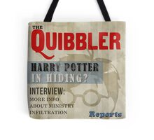 Harry Potter Quibbler Cover Tote Bag