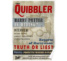 Harry Potter Quibbler Cover Poster