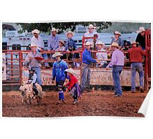 Mutton Busting - Best viewed large Poster
