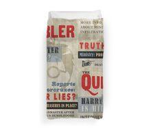Harry Potter Quibbler Cover Duvet Cover