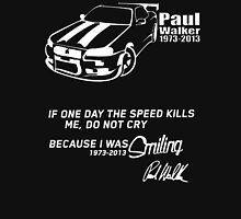 A Tribute to Paul Walker t shirt, iphone case & more T-Shirt