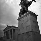 Statue, Vienna Austria by Laura Cooper