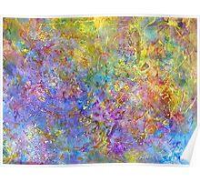 Cosmos Acrylic Handpainted Art Poster