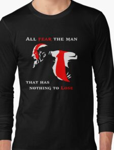 God of War Fear The Man Long Sleeve T-Shirt