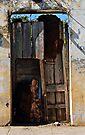 A gate of many colours, Trinidad, Cuba by David Carton