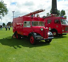 2 Old Fire Engines by bob5419