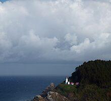 Heceta Head Lighthouse by Randall Ingalls