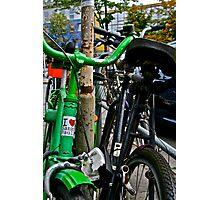 Bicycles of Hamburg No 8 Photographic Print