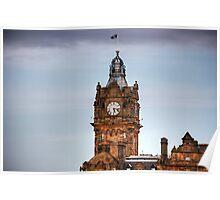 Balmoral Clock Tower Poster
