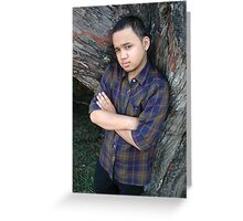 young adult Greeting Card