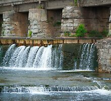 Mississippi Mills Waterfall by Kris  Kennedy