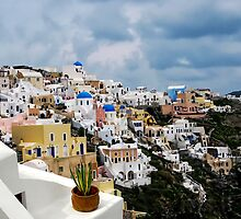 IA VILLAGE - GREECE by Michael Sheridan
