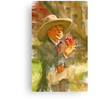 Coca Cola Cowboy Canvas Print