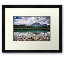 Patricia Lake, Jasper NP Framed Print