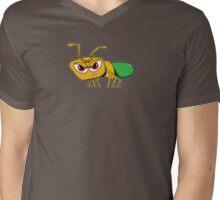 Green Ant Mens V-Neck T-Shirt