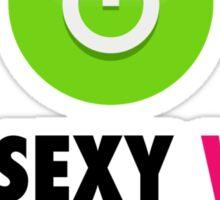 My Sexy Wife Turns Me On 2 Sticker