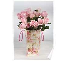 Roses in an bag Poster