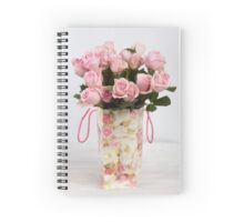 Roses in an bag Spiral Notebook