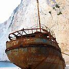 Rustic Shipwreck  by Honor Kyne