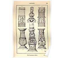 A Handbook Of Ornament With Three Hundred Plates Franz Sales Meyer 1896 0237 Supports Candelabrum Base Poster
