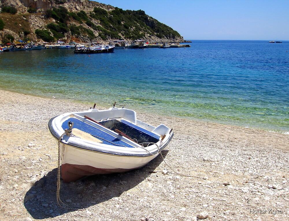 St Nicholas Beach - Zante, Greece by Honor Kyne