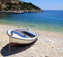 St Nicholas Beach - Zante, Greece by Honor Kyne