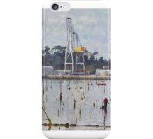 Mornings at the sea iPhone Case/Skin
