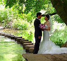 Stepping Stones Box Hill - Wedding Photoshoot ! by Colin  Williams Photography