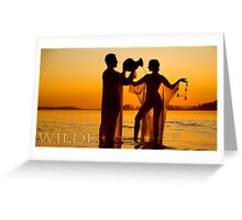 Bathing The Beloved. Greeting Card