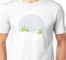 Winter Landscape Unisex T-Shirt