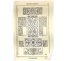 A Handbook Of Ornament With Three Hundred Plates Franz Sales Meyer 1896 0281 Enclosed Ornament Oblong Panel Poster